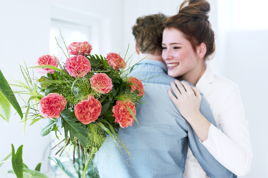 Männern Blumen Schenken